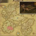 レッサーハイドラ - アジス・ラーの敵生息場所とドロップ素材(FF14 敵素材マップ:蒼天エリア)