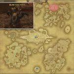 アラガン・キマイラ - アジス・ラーの敵生息場所とドロップ素材(FF14 敵素材マップ:蒼天エリア)キマイラのタテガミ