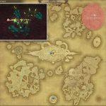 コープスフラワー - アジス・ラーの敵生息場所とドロップ素材(FF14 敵素材マップ:蒼天エリア)