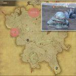ジェラート - クルザス西部高地の敵生息場所とドロップ素材(FF14 敵素材マップ:蒼天エリア)ジェラートの肉