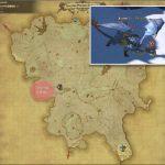 フリーズドラゴン - クルザス西部高地の敵生息場所とドロップ素材(FF14 敵素材マップ:蒼天エリア)ドラゴンの粗皮、ドラゴンの牙、竜族の血、ドラゴンの鱗