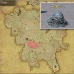 ソルベ - クルザス西部高地の敵生息場所とドロップ素材(FF14 敵素材マップ:蒼天エリア)ジェラートの肉