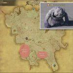 スレート・イエティ - クルザス西部高地の敵生息場所とドロップ素材(FF14 敵素材マップ:蒼天エリア)イエティの牙