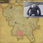 ローン・イエティ - クルザス西部高地の敵生息場所とドロップ素材(FF14 敵素材マップ:蒼天エリア)イエティの牙
