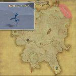 スリートトラップ - クルザス西部高地の敵生息場所とドロップ素材(FF14 敵素材マップ:蒼天エリア)アイストラップの葉