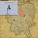 アイストラップ - クルザス西部高地の敵生息場所とドロップ素材(FF14 敵素材マップ:蒼天エリア)アイストラップの葉