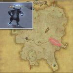 ベルグスルス - クルザス西部高地の敵生息場所とドロップ素材(FF14 敵素材マップ:蒼天エリア)