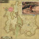 ガゼルホーク - ギラバニア辺境地帯の敵生息場所とドロップ素材(FF14 敵素材マップ:紅蓮エリア)