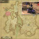 サプリア - ギラバニア辺境地帯の敵生息場所とドロップ素材(FF14 敵素材マップ:紅蓮エリア)