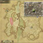 モスモス - ギラバニア辺境地帯の敵生息場所とドロップ素材(FF14 敵素材マップ:紅蓮エリア)