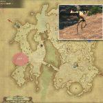 スキマー - ギラバニア辺境地帯の敵生息場所とドロップ素材(FF14 敵素材マップ:紅蓮エリア)