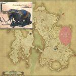 セイクレッド・マーリド - ギラバニア辺境地帯の敵生息場所とドロップ素材(FF14 敵素材マップ:紅蓮エリア)マーリドの粗皮