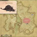テレオケラス - ギラバニア辺境地帯の敵生息場所とドロップ素材(FF14 敵素材マップ:紅蓮エリア)