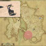 ガゼル - ギラバニア辺境地帯の敵生息場所とドロップ素材(FF14 敵素材マップ:紅蓮エリア)ガゼルの粗皮、ガゼルの角