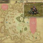 クリーピング・エディラ - ギラバニア湖畔地帯の敵生息場所とドロップ素材(FF14 敵素材マップ:紅蓮エリア)