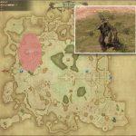 カルク - ギラバニア湖畔地帯の敵生息場所とドロップ素材(FF14 敵素材マップ:紅蓮エリア)ゼルコバ原木