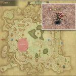 ソブラン - ギラバニア湖畔地帯の敵生息場所とドロップ素材(FF14 敵素材マップ:紅蓮エリア)岩塩