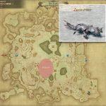 タラシナ - ギラバニア湖畔地帯の敵生息場所とドロップ素材(FF14 敵素材マップ:紅蓮エリア)