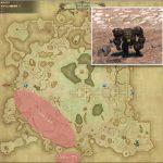 ソルト・ダラ - ギラバニア湖畔地帯の敵生息場所とドロップ素材(FF14 敵素材マップ:紅蓮エリア)