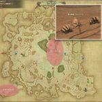 フォーバッド - ギラバニア湖畔地帯の敵生息場所とドロップ素材(FF14 敵素材マップ:紅蓮エリア)岩塩