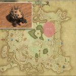 ケローネ - ギラバニア湖畔地帯の敵生息場所とドロップ素材(FF14 敵素材マップ:紅蓮エリア)