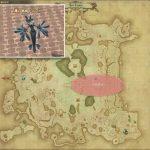 ドルヴァ - ギラバニア湖畔地帯の敵生息場所とドロップ素材(FF14 敵素材マップ:紅蓮エリア)