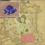 アバドン - ギラバニア湖畔地帯の敵生息場所とドロップ素材(FF14 敵素材マップ:紅蓮エリア)