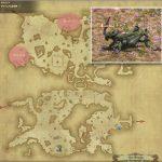 チャプリ - ギラバニア山岳地帯の敵生息場所とドロップ素材(FF14 敵素材マップ:紅蓮エリア)
