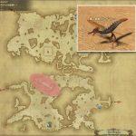 コンガマトー - ギラバニア山岳地帯の敵生息場所とドロップ素材(FF14 敵素材マップ:紅蓮エリア)