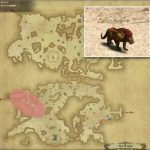 パンテーラ - ギラバニア山岳地帯の敵生息場所とドロップ素材(FF14 敵素材マップ:紅蓮エリア)