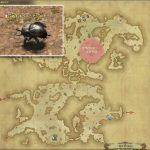 ギラバニアン・スカラベ - ギラバニア山岳地帯の敵生息場所とドロップ素材(FF14 敵素材マップ:紅蓮エリア)サイカブトの甲殻