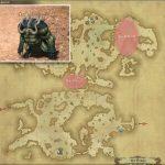 ルードスード - ギラバニア山岳地帯の敵生息場所とドロップ素材(FF14 敵素材マップ:紅蓮エリア)