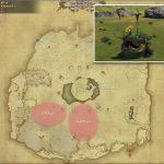 カオチュー - アジムステップの敵生息場所とドロップ素材(FF14 敵素材マップ:紅蓮エリア)