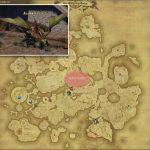 モスドラゴン - ドラヴァニア雲海の敵生息場所とドロップ素材(FF14 敵素材マップ:蒼天エリア)ドラゴンの粗皮、ドラゴンの牙、竜族の血、ドラゴンの鱗