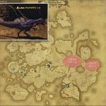 アルケオダイノス - ドラヴァニア雲海の敵生息場所とドロップ素材(FF14 敵素材マップ:蒼天エリア)