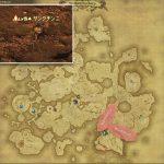 サンクチンニ - ドラヴァニア雲海の敵生息場所とドロップ素材(FF14 敵素材マップ:蒼天エリア)