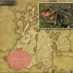 ドラヴァニアン・ワイバーン - 高地ドラヴァニアの敵生息場所とドロップ素材(FF14 敵素材マップ:蒼天エリア)ワイバーンの粗皮、ワイバーンの翼膜