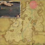 ドラゴンフライ・トレーサー - 高地ドラヴァニアの敵生息場所とドロップ素材(FF14 敵素材マップ:蒼天エリア)