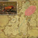 バンダースナッチ - 高地ドラヴァニアの敵生息場所とドロップ素材(FF14 敵素材マップ:蒼天エリア)