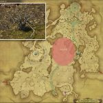 メリアエ - 高地ドラヴァニアの敵生息場所とドロップ素材(FF14 敵素材マップ:蒼天エリア)