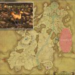 ワイルドチョコボ - 高地ドラヴァニアの敵生息場所とドロップ素材(FF14 敵素材マップ:蒼天エリア)