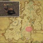 ロフタン - 高地ドラヴァニアの敵生息場所とドロップ素材(FF14 敵素材マップ:蒼天エリア)ロフタンのフランク