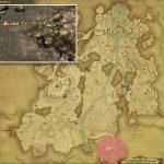 グナース・スチールドローン - 高地ドラヴァニアの敵生息場所とドロップ素材(FF14 敵素材マップ:蒼天エリア)