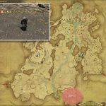 グナース・アイアンドローン - 高地ドラヴァニアの敵生息場所とドロップ素材(FF14 敵素材マップ:蒼天エリア)