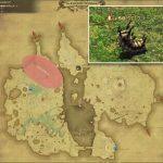 クロウラー - 低地ドラヴァニアの敵生息場所とドロップ素材(FF14 敵素材マップ:蒼天エリア)クロウラーのマユ