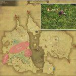 オーン・コリブリ - 低地ドラヴァニアの敵生息場所とドロップ素材(FF14 敵素材マップ:蒼天エリア)