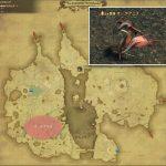 オーケアニス - 低地ドラヴァニアの敵生息場所とドロップ素材(FF14 敵素材マップ:蒼天エリア)オーケアニスの肉、オーケアニスの卵