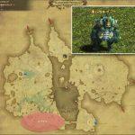 オプケン - 低地ドラヴァニアの敵生息場所とドロップ素材(FF14 敵素材マップ:蒼天エリア)