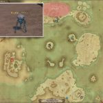 シラヌイ - 紅玉海の敵生息場所とドロップ素材(FF14 敵素材マップ:紅蓮エリア)