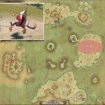 ベニツノ - 紅玉海の敵生息場所とドロップ素材(FF14 敵素材マップ:紅蓮エリア)ベニツノの笹身